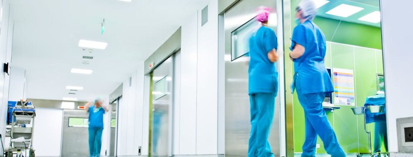 TMVs and hot water scalding risks in healthcare