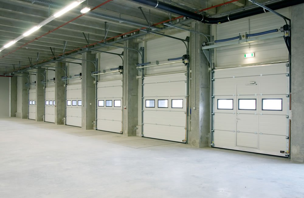 Energy efficiency energy savings for business heating for Energy efficient garage doors