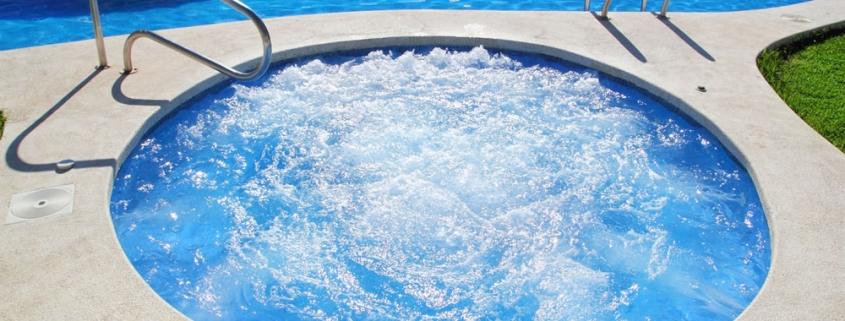 Legionella in spa pools