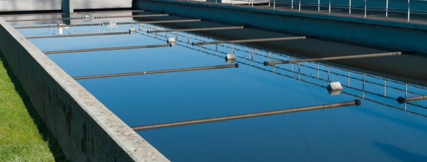 What is aerobic wastewater treatment?